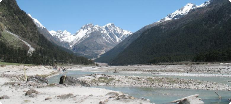 Breathtaking Yumthang valley