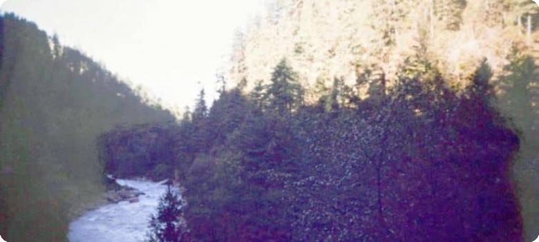 Kali river view from Malpa camp in 1994