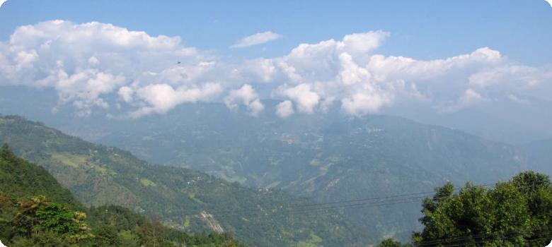 Kaluk Rinchenpong mountains Sikkim