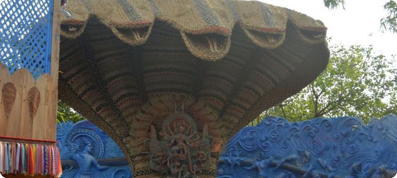 First creative Durga Puja theme, Kolkata 2015