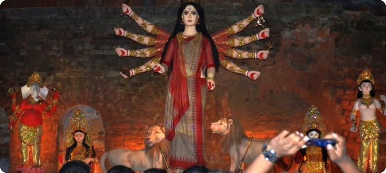 Our own woman Devi Durga, a modern theme