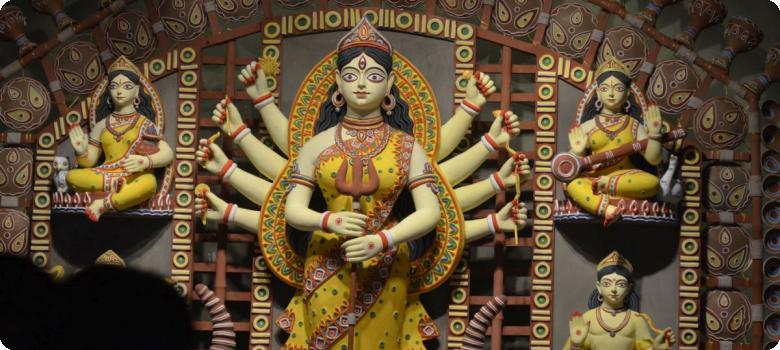 Devi Durga extends rejuvenation, theme 5, Kolkata Puja 2015
