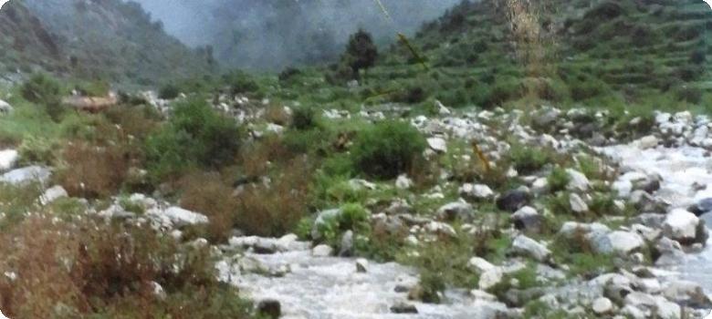 Stream near Gala camp