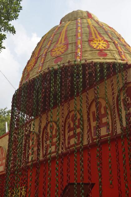 Looking beautiful, Durga Puja 2015 third theme