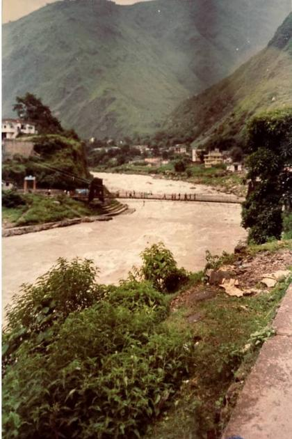 Kali river at Dharchula