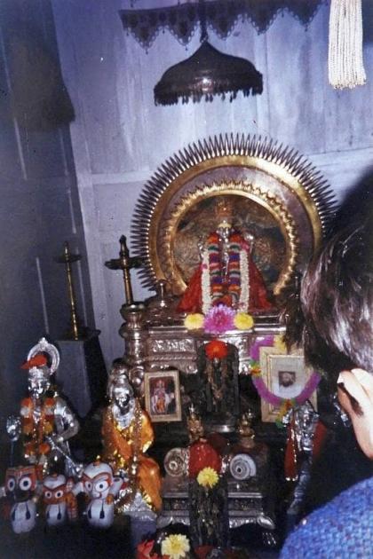 Deity at Narayan Swami Ashram