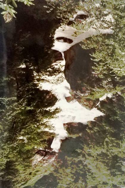 Kali river view where umbrella of Gansesh fell, Day 6