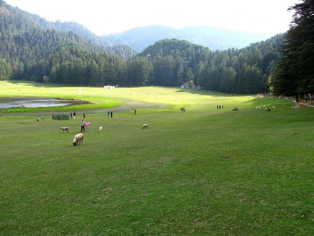 Breathtaking Khajjiar lake