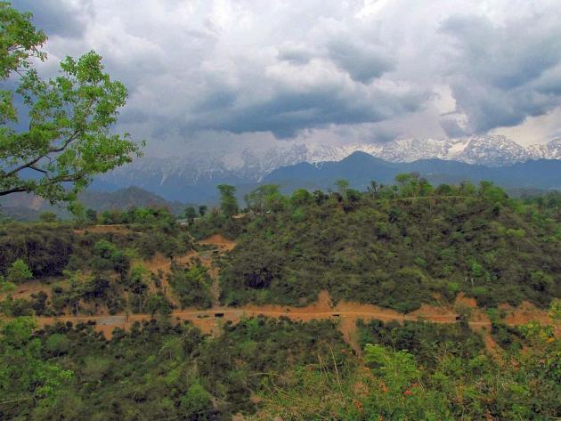 Dhauladhar Himalayan range