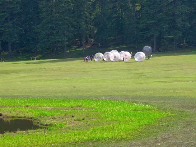 Giant rolling balls Khajjiar lake