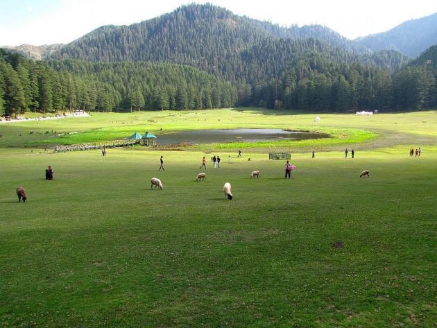 Sacred lake Khajjiar