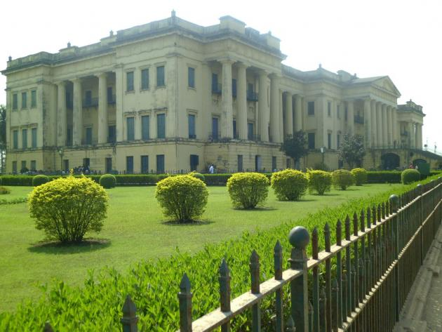 Hazarduary palace from a distance