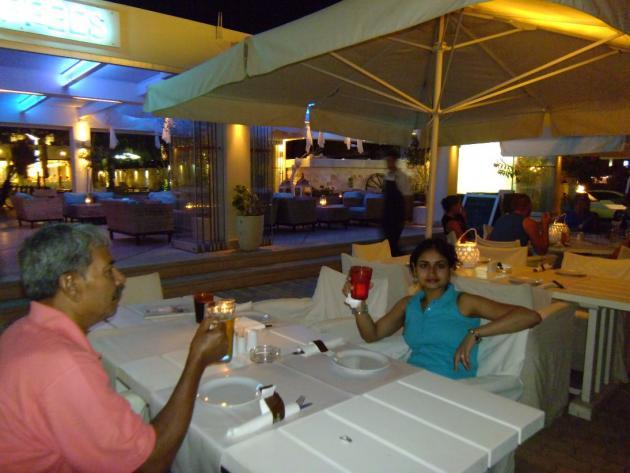 Dinner at Hersonissos