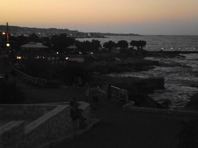 Evening at Hersonissos