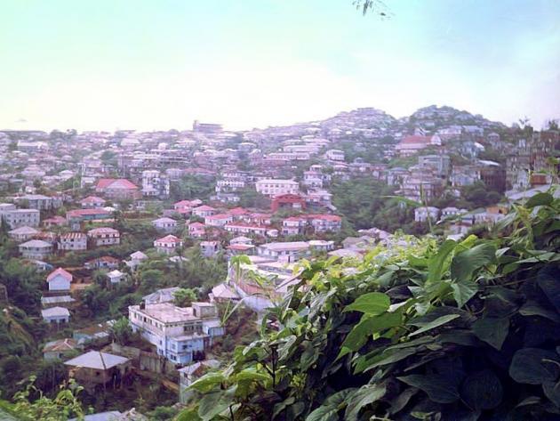 Hill city Lunglei Mizoram