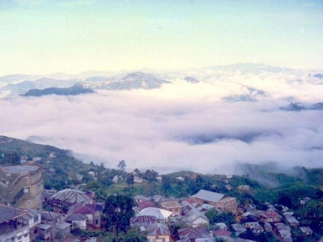 Lunglei in thick clouds