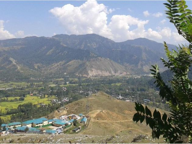 View from Titanic viewpoint Kashmir