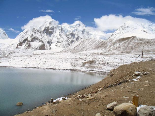 Gurudongmar lake looking from right to left 1