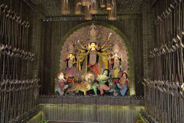 Highlighted idol, Kolkata Durga Puja 2015