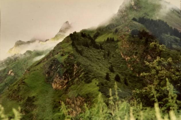 End of uphill climb - Chhiyalekh pass
