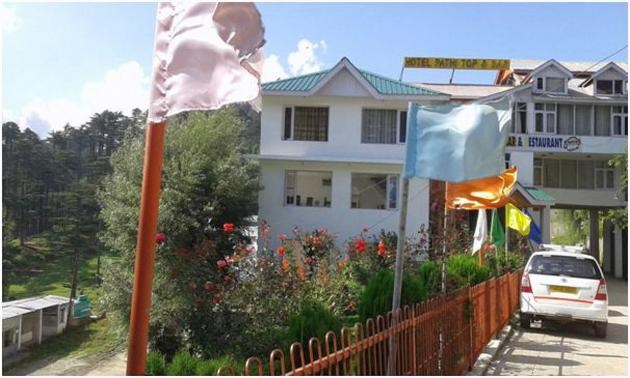 Hotel Patnitop with garden